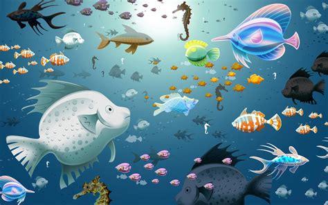 wallpaper et fond d 233 cran aquarium virtuel 1920x1200