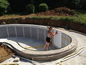 incroyable construire sa piscine hors sol soi meme 7 With construire sa piscine soi meme
