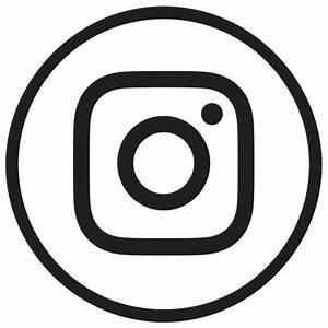 round, social media, Instagram icon