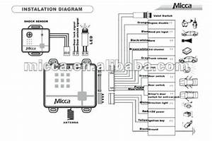 Wiring Diagram For Prestige Alarm