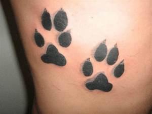TATUAGGI: impronta del cane, significato e foto