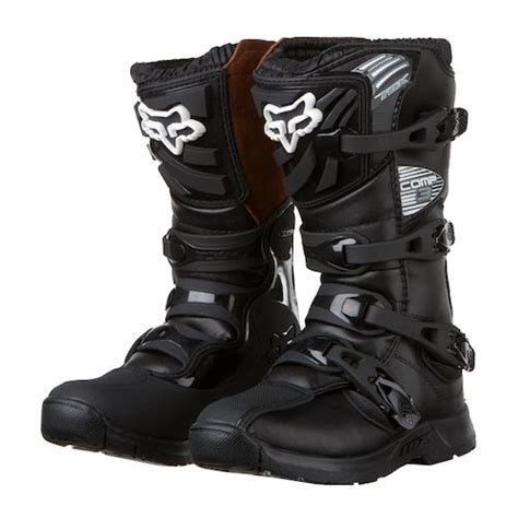 cheap kids motocross boots fox racing youth comp 3 boots