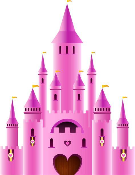 Disney Castle Clipart Pink Castle Clipart White And Pink Castle Png Clip