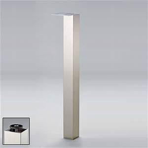Edelstahl Vierkantrohr 80x80 : neu st tzfu tischbein 1100 mm hoch 80x80 mm edelstahl optik ebay ~ Eleganceandgraceweddings.com Haus und Dekorationen