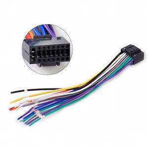 16pin Car Radio Stereo Wire Harness Install Plug Cable