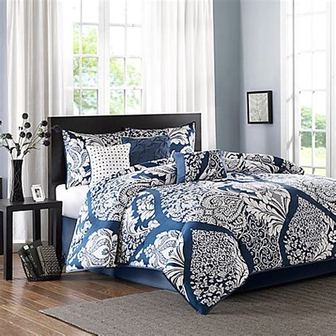 madison park vienna 7 piece comforter set park vienna comforter set bed bath beyond