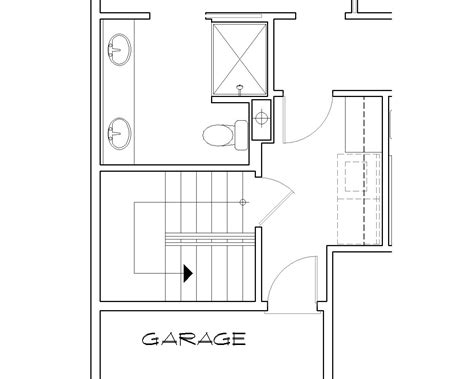 floor plans stairs preston 5260 3 bedrooms and 2 5 baths the house designers