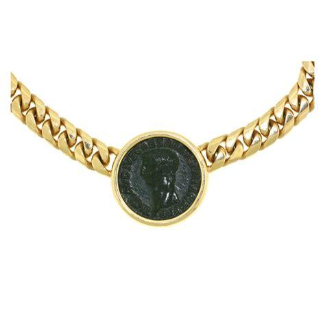 coins necklace bulgari ancient coin gold necklace ancient romans