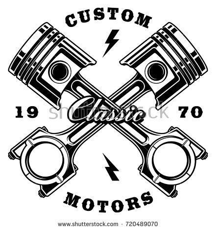 piston stock royalty free vectors