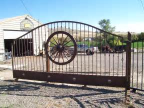 Wrought Iron Gate Design