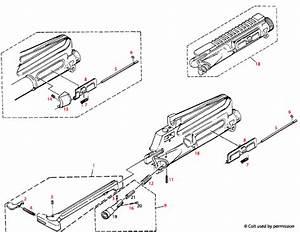 Colt U00ae Ar-15 Upper Receiver Schematic