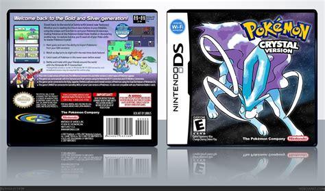 Pokemon Crystal Nintendo Ds Box Art Cover By Linnus