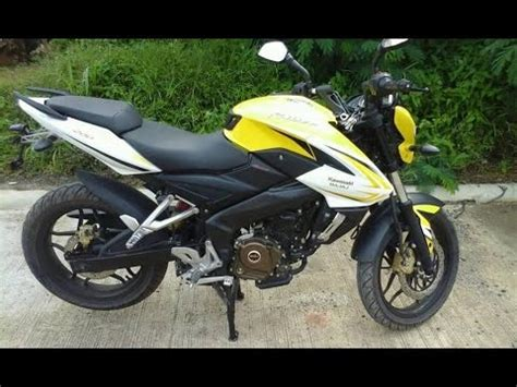 Review Bajaj Rouser by Kawasaki Rouser 200ns For Sale Price List In The