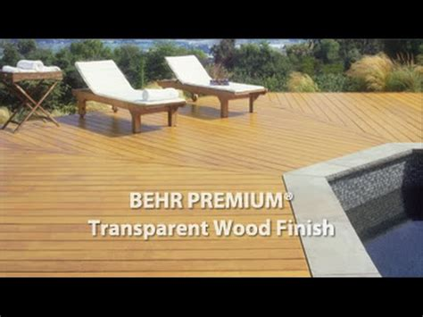 Behr Deck Cleaner And Brightener Directions by Behr Premium 174 Transparent Weatherproofing All In One Wood