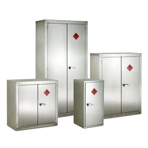 stainless steel cabinet stainless steel flammable storage cabinet 915mmw x 1830mmh