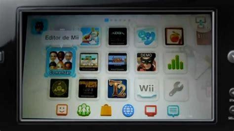 Wii U Menu, Aplicaciones Y Mas