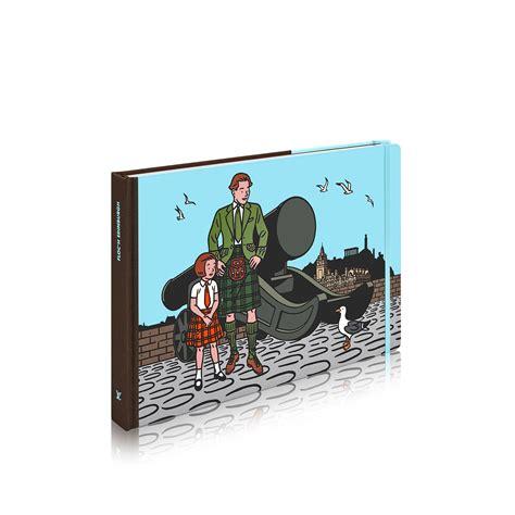 travel book edinburgh english version books writing louis vuitton
