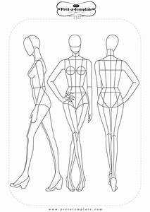 25 best ideas about fashion templates on pinterest With costume drawing template