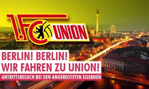 Fc union berlin or simply union berlin, is a professional german association footbal. Berlin! Berlin! Wir fahren zu Union! - RB-Fans.de