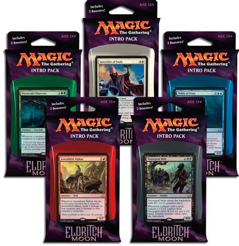 mtg intro decks origins eldritch moon intro pack decklists