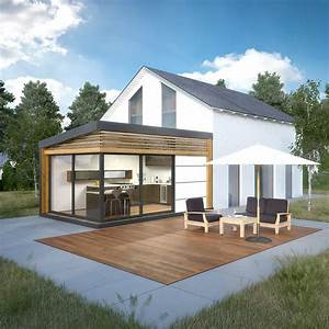cozyhome l39extension moderne et lumineuse accolee a With photo de plan de maison 17 agrandissement maison bois extension bois