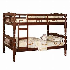 Catalina twin twin bunk bed cherry cm bk606ch for Catalina bunk bed reviews