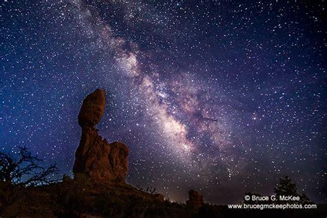 Milky Way Over The Utah Desert Bruce Mckee Photos