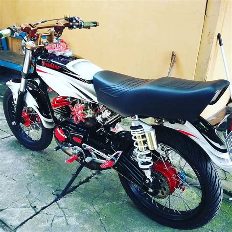 Modif Rx King Biru by Koleksi Modifikasi Motor Rx King Warna Biru Terbaru