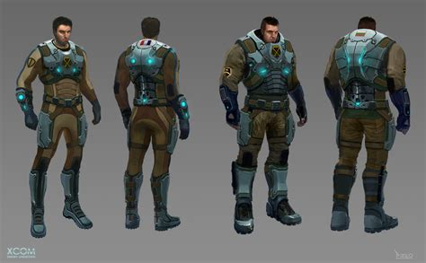 xcom enemy unknown armor piero character macgowan level concept soldiers designs artwork enemies concepts robot games eu mech progression body