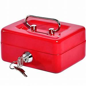Small coin cash box with slot jssmst lock box for adults for Lock box with slot for documents
