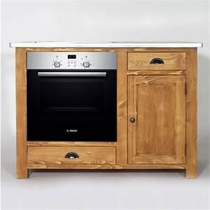 Fabriquer Meuble Bois : fabriquer ses meubles de cuisine en bois id e de mod le de cuisine ~ Voncanada.com Idées de Décoration