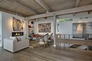 deco maison melange moderne ancien With idee de decoration de jardin 15 une maison moderne esprit scandinave scandinave salon