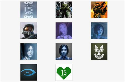 Check Out The New Xbox And Halo 15th Anniversary Gamerpics