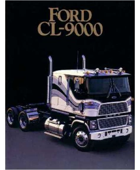 ford cl  series sales brochure