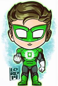 Hal Jordan (Green Lantern) | Lord mesa art, Chibi marvel
