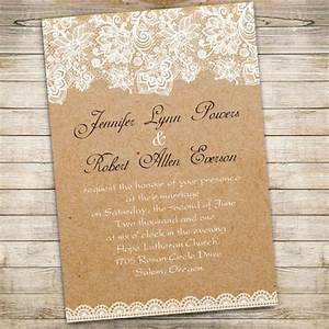 free lace wedding invitations templates weddingpluspluscom With lace wedding invitations free samples