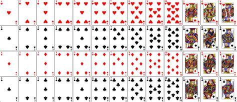 cuantas cartas tiene el casino