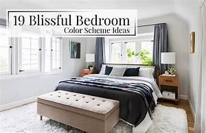 19, Blissful, Bedroom, Color, Scheme, Ideas
