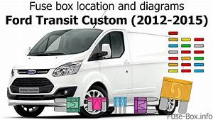 Fuse Box Location And Diagrams  Ford Transit Custom  2012