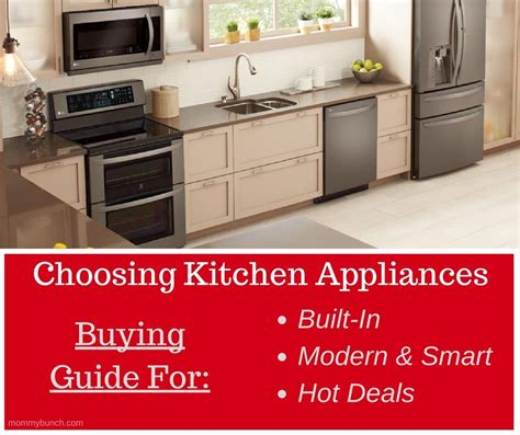 choosing kitchen appliances lg   buy buying guide