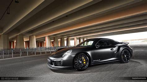 black porsche 911 turbo matte black porsche 911 turbo s by mm performance gtspirit