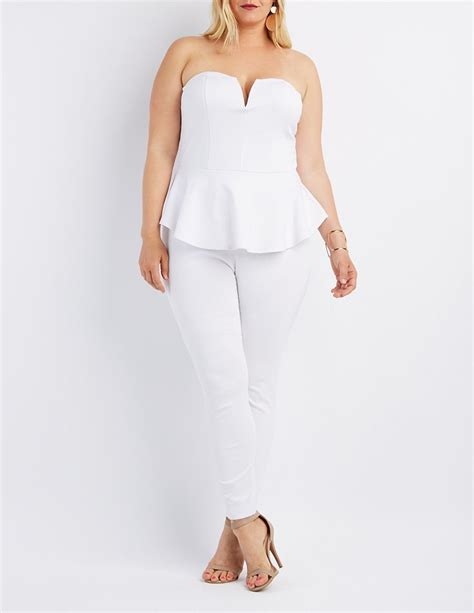 white peplum jumpsuit 17 best images about all white on all