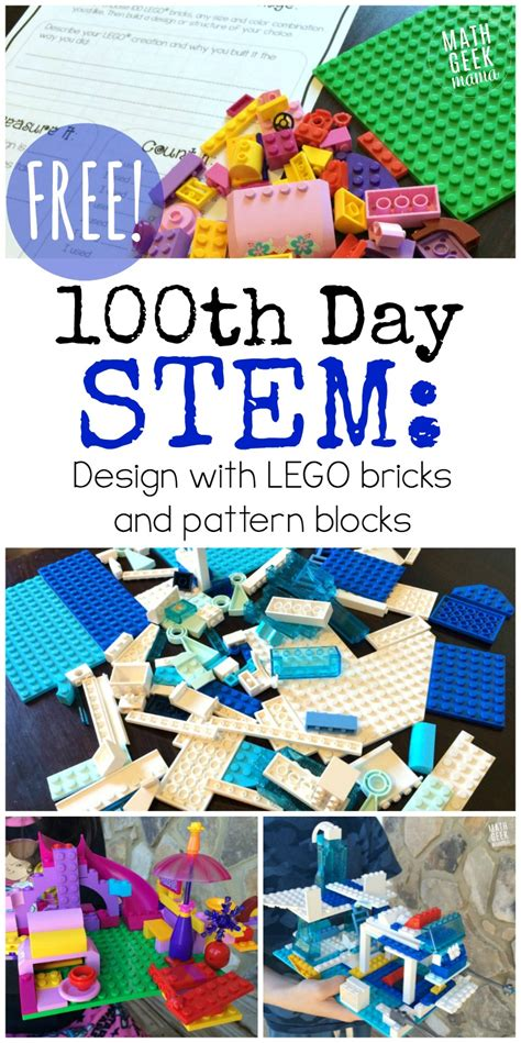 printable  day  school stem lego challenge