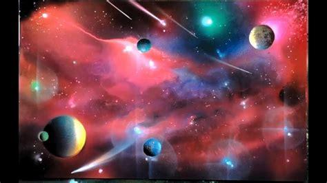Spray Paint Rainbow Galaxy Pink Nebula Landscape Tools