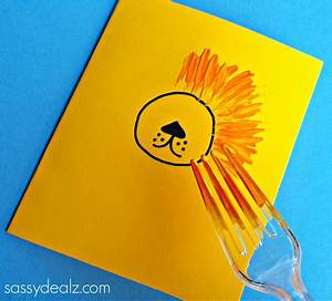 Easy Lion Mother's Day Card for Kids to Make - Sassy Dealz ...