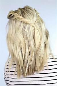Coiffure Tresse Facile Cheveux Mi Long : 30 tutoriels faciles pour bien coiffer vos cheveux mi ~ Melissatoandfro.com Idées de Décoration