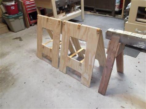 portable sawhorses  donb  lumberjockscom