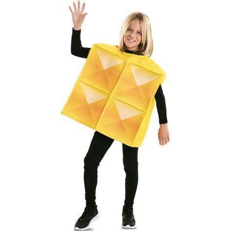 Disfraz Tetris Amarillo para Niños【Envío en 24h】