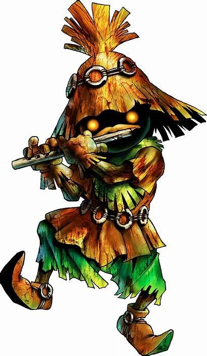 Kid Skull Zelda Artwork Legend Ocarina Raza
