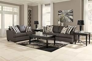 Grey living room furniture dark living room furniture for Grey living room furniture